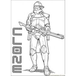 Star Wars Character 3 Free Coloring Page for Kids