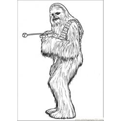 Star Wars Character 5 Free Coloring Page for Kids