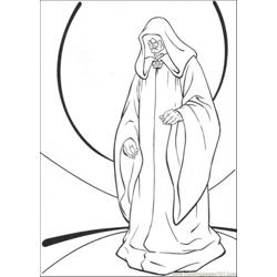 Star Wars Character 8 Free Coloring Page for Kids