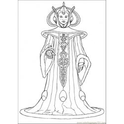 Star Wars Character 9 Free Coloring Page for Kids