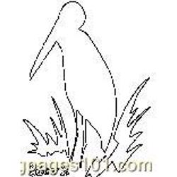 Th Stork coloring page