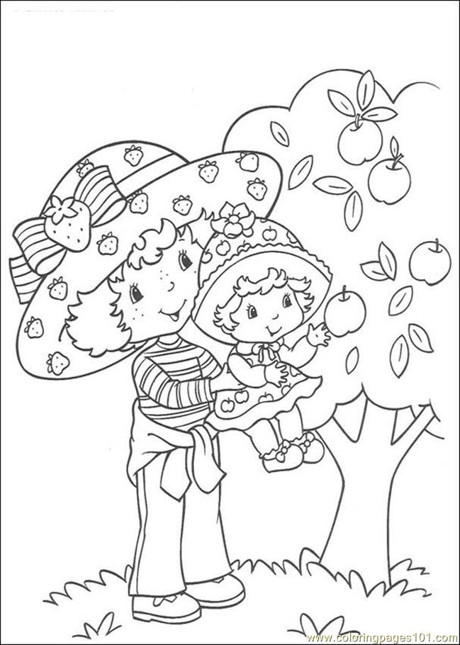Strawberry Shortcake13 Coloring Page