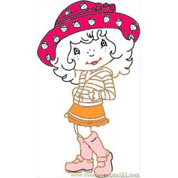 Strawberry Shortcake Step 6 Free Coloring Page for Kids