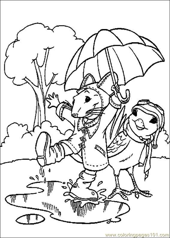 Stuart Little 13 Coloring Page