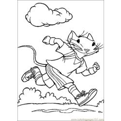 Stuart Little 10 Free Coloring Page for Kids