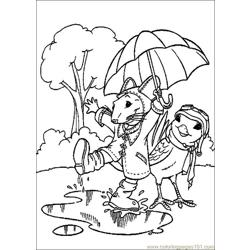 Stuart Little 13 Free Coloring Page for Kids