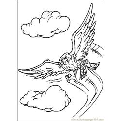 Stuart Little 14 Free Coloring Page for Kids