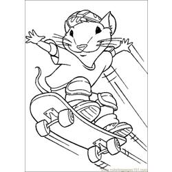 Stuart Little 15 Free Coloring Page for Kids