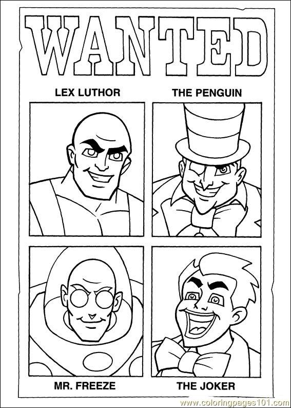 Super Friends01 (14) Coloring Page - Free Super Friends Coloring ...