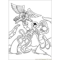 Super Friends01 (1) Free Coloring Page for Kids