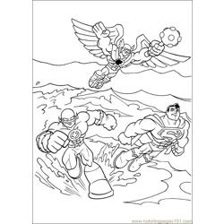 Super Friends01 (3) Free Coloring Page for Kids