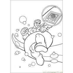 Super Friends01 (5) Free Coloring Page for Kids