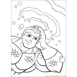 Super Friends01 (6) Free Coloring Page for Kids