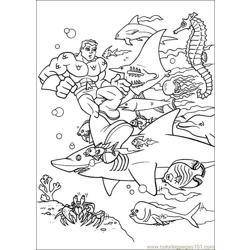 Super Friends01 (9) Free Coloring Page for Kids