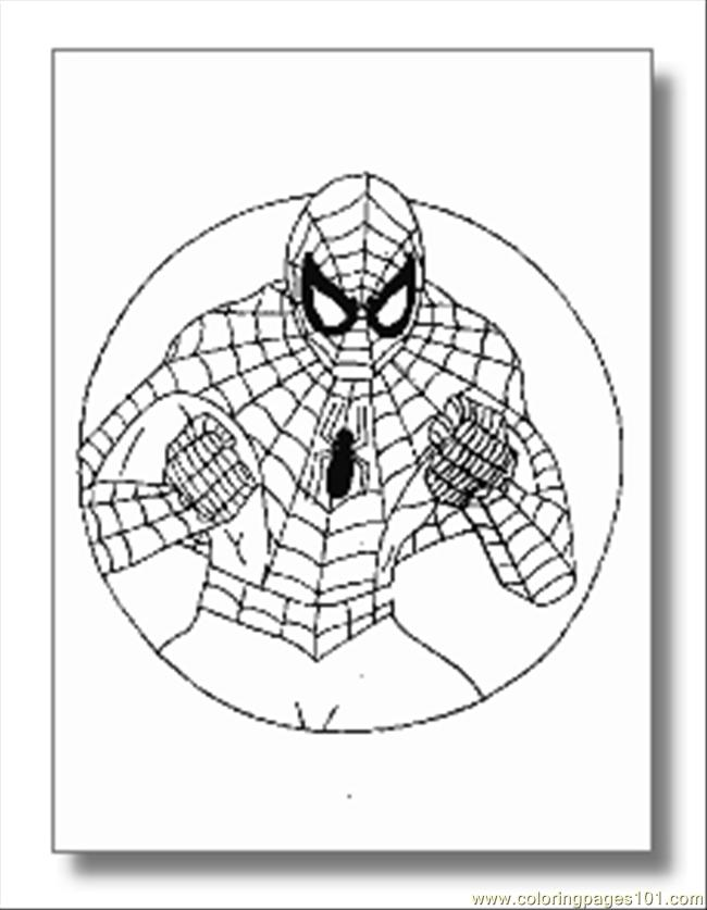 Superhero 15 Coloring Page