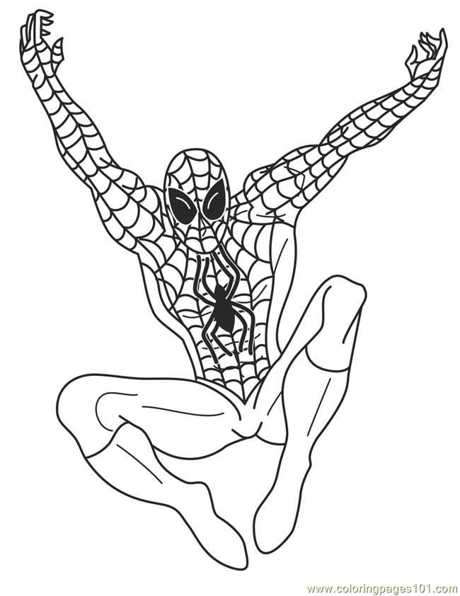 Superhero 22 Coloring Page - Free Superhero Coloring Pages ...