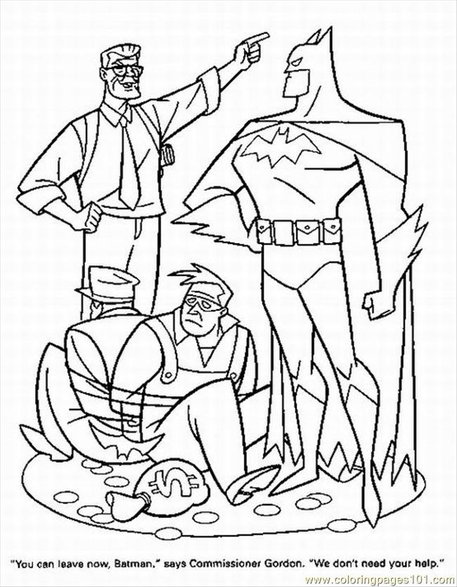 Superhero 9 Coloring Page - Free Superhero Coloring Pages ...