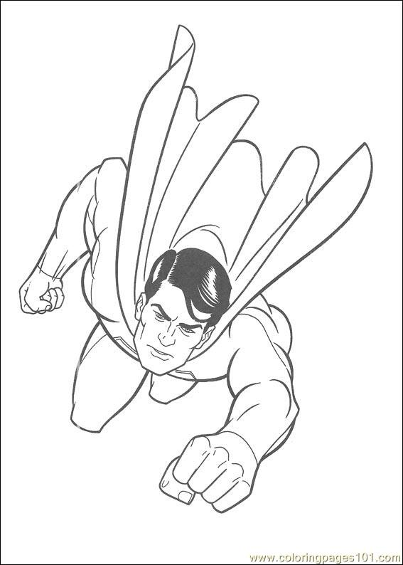 Superman 13 Coloring Page - Free Superman Coloring Pages ...