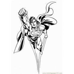 Super (23) Free Coloring Page for Kids