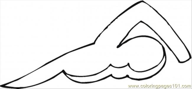 Swimming Coloring Page Free Swimming Coloring Pages Swimming Coloring Pages