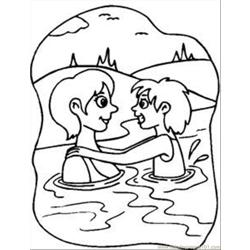 Water Swim Rdax 65 coloring page