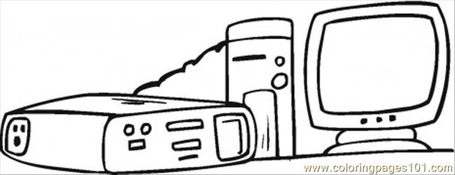 Internet Coloring Page