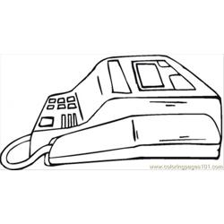 Fax Machine coloring page