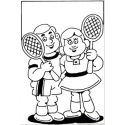 Little Tennis Players