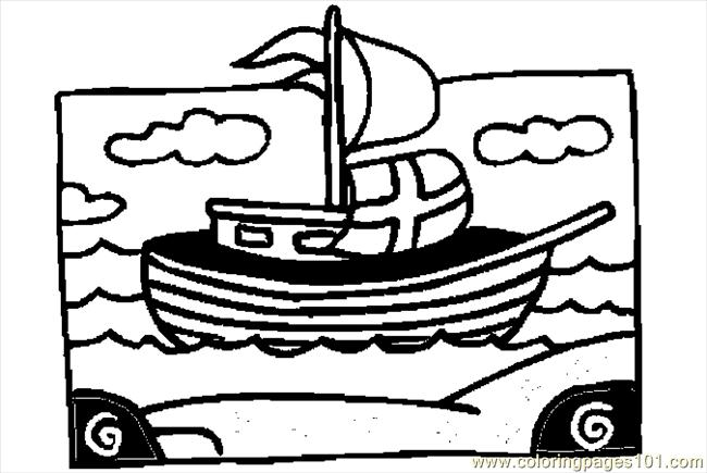 Mayflower 7 Coloring Page