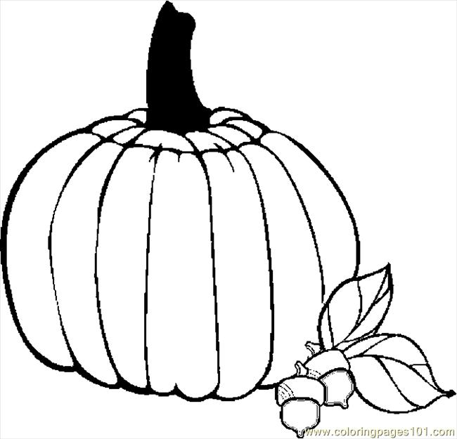thanksgiving pumpkins coloring pages - photo#21