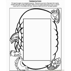 Tgiv Frame Free Coloring Page for Kids