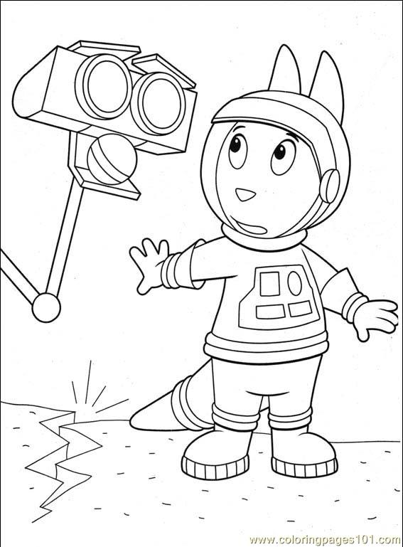 backyardigans 001 23 coloring page free the