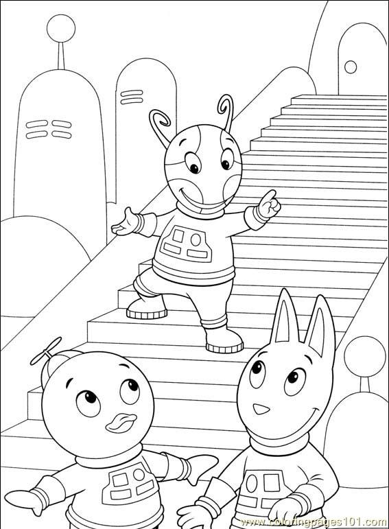 Backyardigans 001 (37) Coloring Page