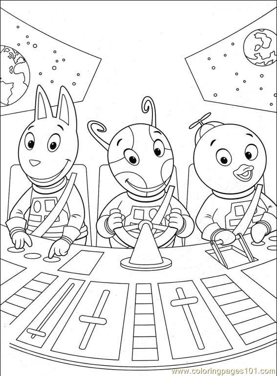 Backyardigans 001 (7) Coloring Page