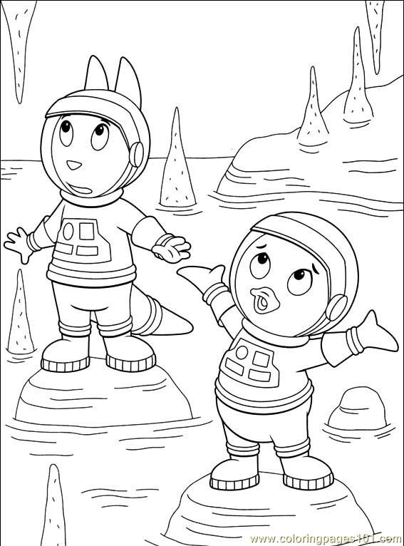 backyardigans 021 10 coloring page - Backyardigans Coloring Pages Print