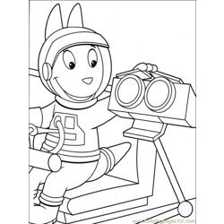 Backyardigans 001 (19) Free Coloring Page for Kids
