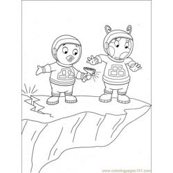 Backyardigans 001 (22) Free Coloring Page for Kids