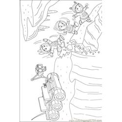 Backyardigans 001 (24) Free Coloring Page for Kids