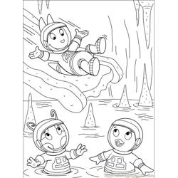Backyardigans 001 (26) Free Coloring Page for Kids