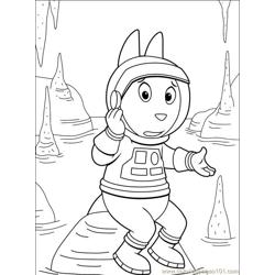 Backyardigans 001 (27) Free Coloring Page for Kids