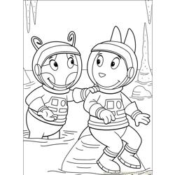 Backyardigans 001 (28) Free Coloring Page for Kids