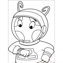 Backyardigans 001 (29) Free Coloring Page for Kids