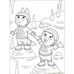 Backyardigans 001 (30) Free Coloring Page for Kids