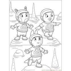 Backyardigans 001 (32) Free Coloring Page for Kids