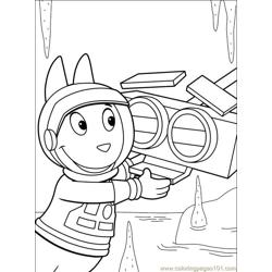 Backyardigans 001 (34) Free Coloring Page for Kids