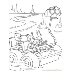 Backyardigans 001 (35) Free Coloring Page for Kids