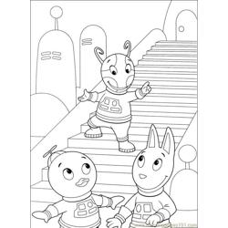 Backyardigans 001 (37) Free Coloring Page for Kids