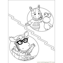 Backyardigans 001 (39) Free Coloring Page for Kids