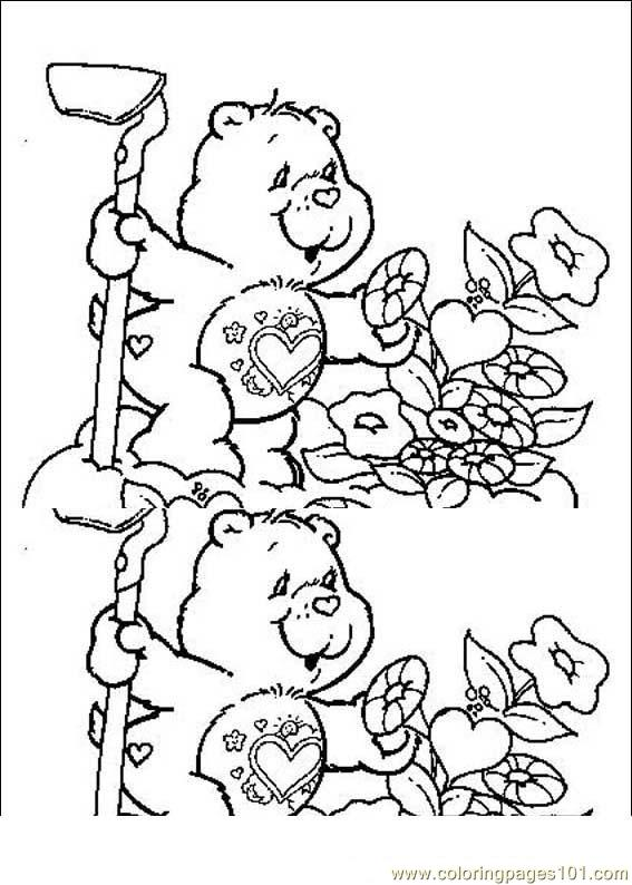 Carebears 02(1) Coloring Page
