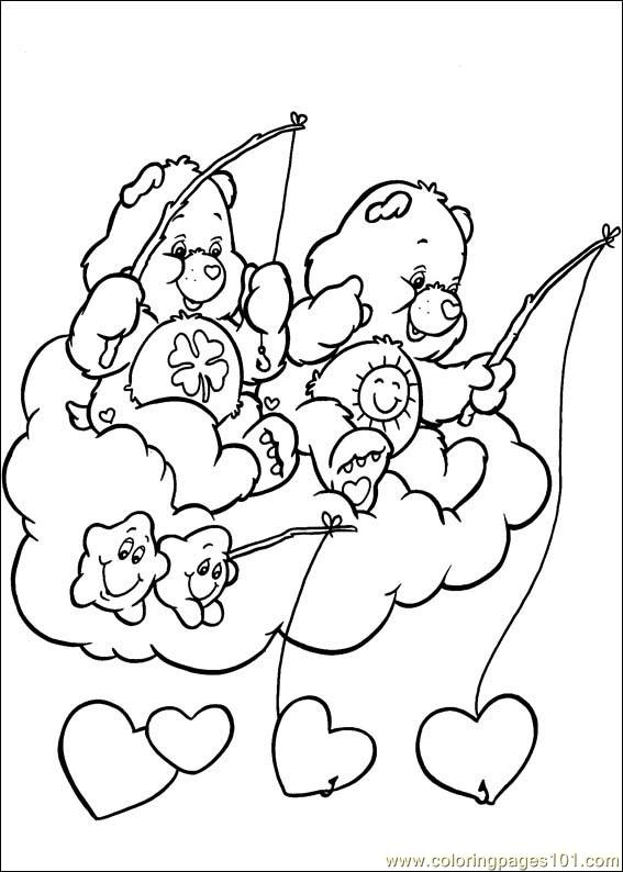 Care Bears 48 Coloring Page